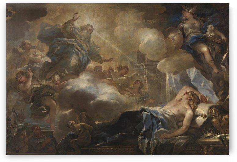 The Dream of Solomon by Luca Giordano