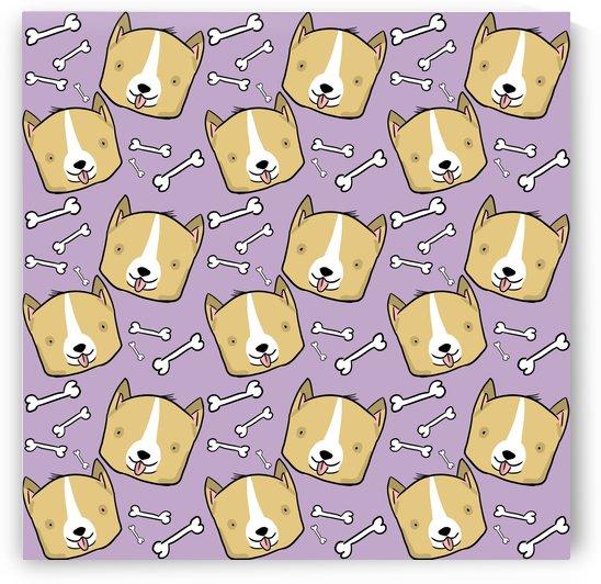 Corgi Pattern by Shamudy