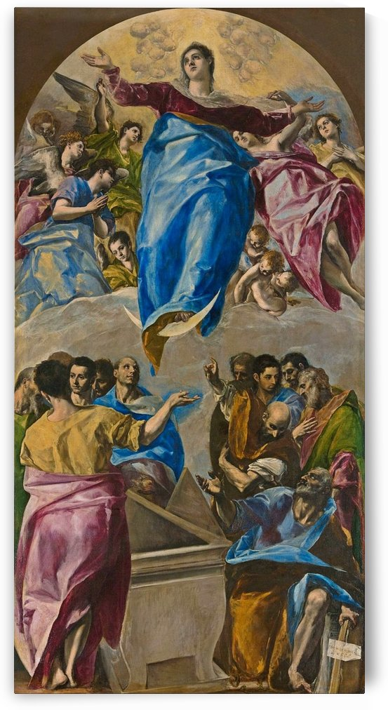 The Assumption of the Virgin by Luca Giordano