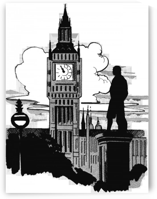 big ben england london uk landmark by Shamudy