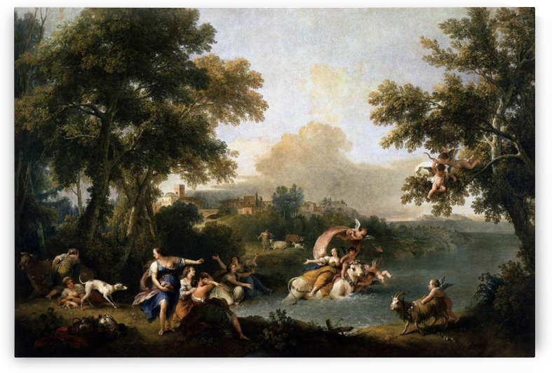 The Rape of Europa by Luca Giordano