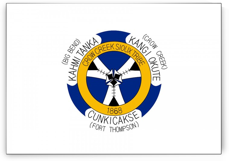 Crow Creek Indian Reservation Flag by Fun With Flags