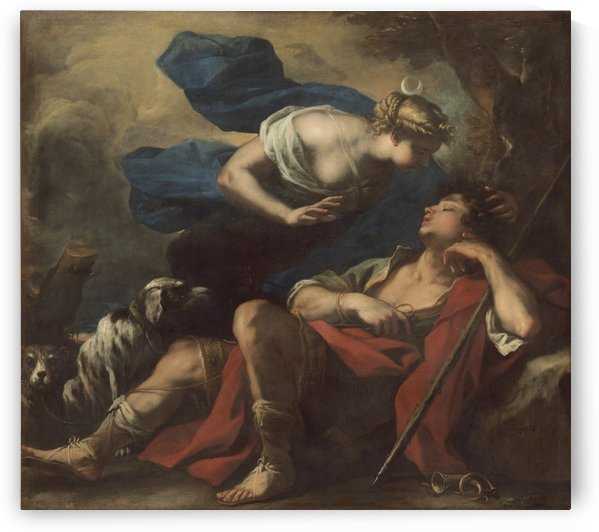 Diana and Endymion by Luca Giordano