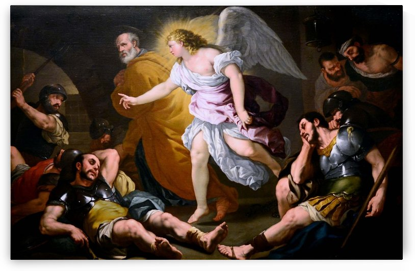 The Liberation of St. Peter by Luca Giordano