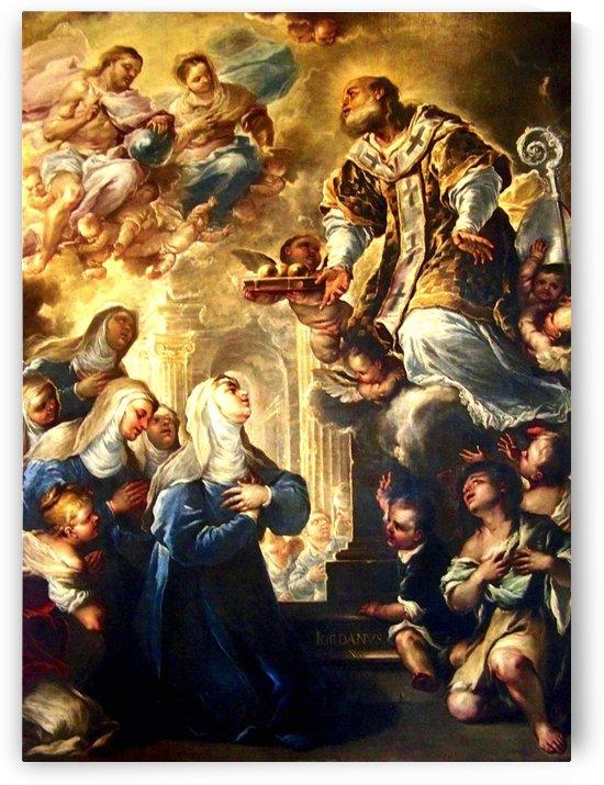 Saint Nicholas in Glory by Luca Giordano