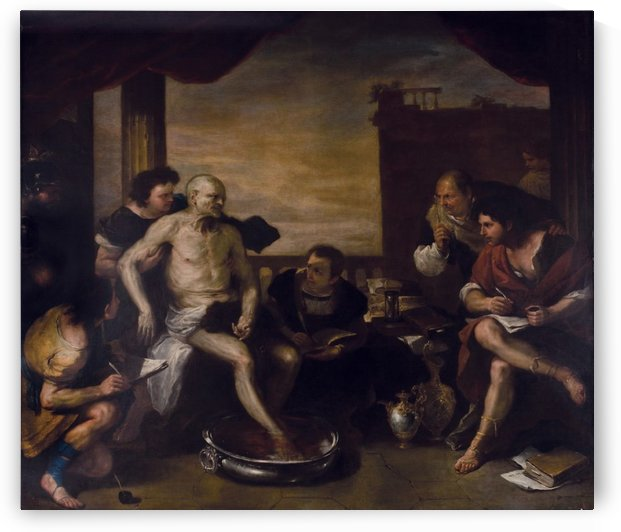 La muerte de Seneca by Luca Giordano