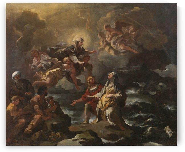 Santa Brígida by Luca Giordano