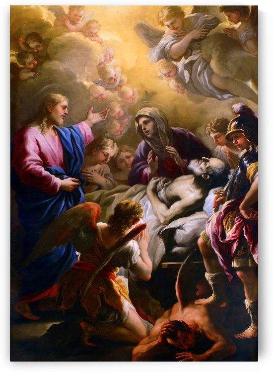 The Death of Saint Joseph by Luca Giordano