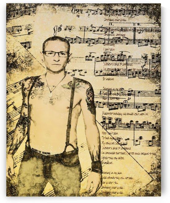 Chester Bennington Linkin Park by ArtDragon
