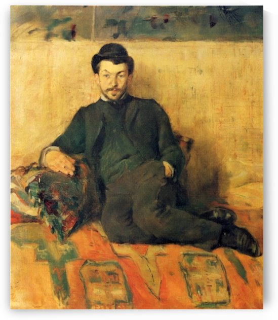 Gustave Lucien Dennery by Toulouse-Lautrec by Toulouse-Lautrec