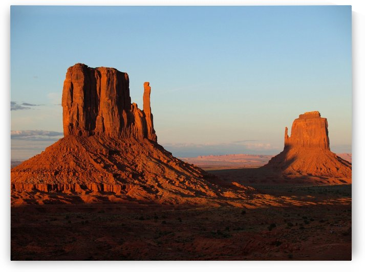 monument valley utah usa red by Shamudy
