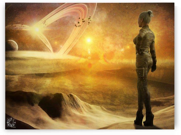 The Goddess Suns by ChrisHarrisArt