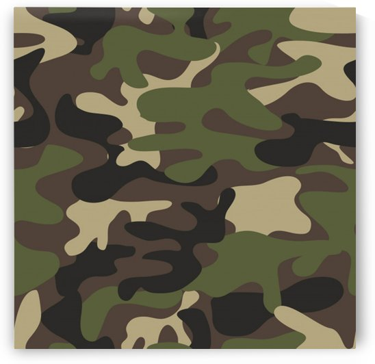 texture military camouflage repeats seamless army green hunting by Shamudy