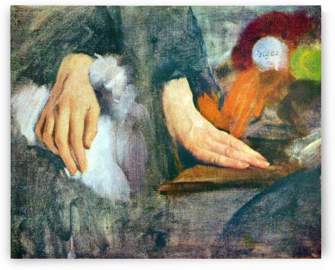Hand Study by Degas by Degas