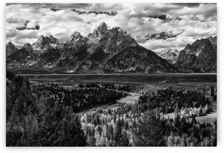 The Tetons  by John Moore