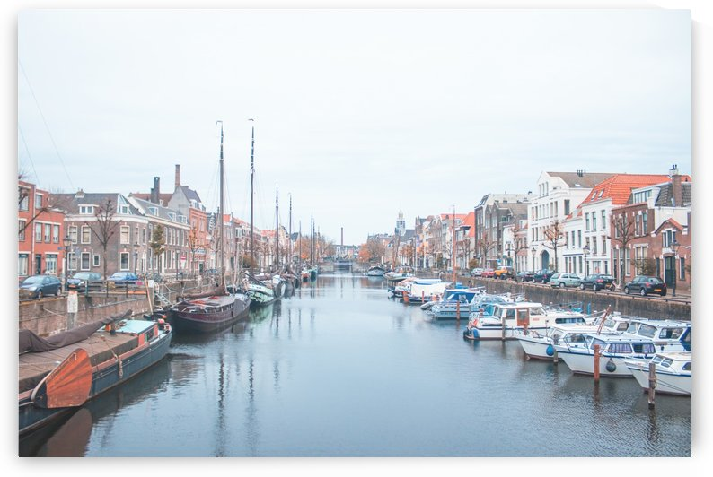 ROTTERDAM OLD TOWN RIVER by Sedgraphic
