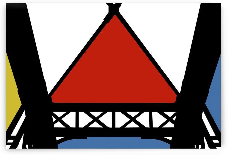 Bridge XII by Carlos Wood