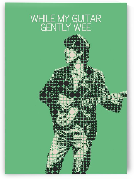 While My Guitar Gently Wee   the Beatles by Gunawan Rb