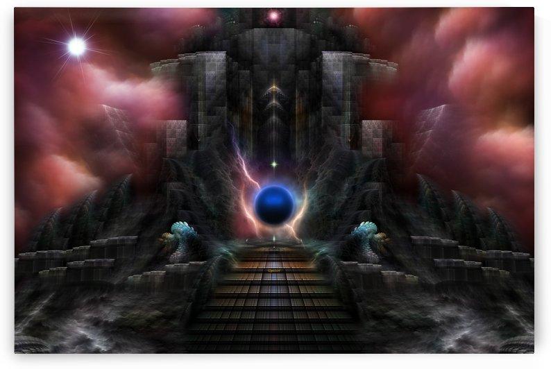 The Realm Of Osphilium Fantasy Landscape Fractal Composition by xzendor7