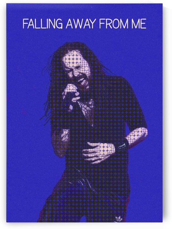 Falling Away from Me   Jonathan Davis   Korn by Gunawan Rb