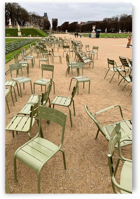 Chaises du Luxembourg   3 by Alain Harrus