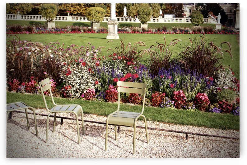 Chaises du Luxembourg   5 by Alain Harrus