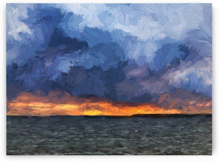 Clouds over Palestine by AMANDA WYN CHANCE