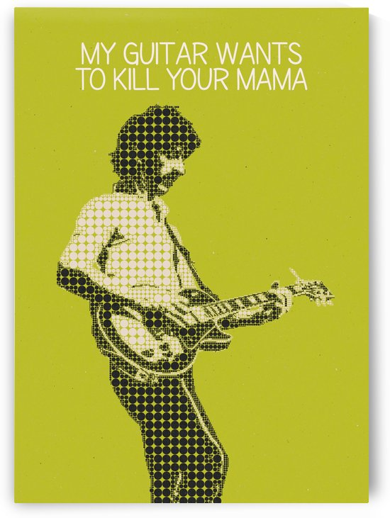 My Guitar Wants To Kill Your Mama   Frank Zappa by Gunawan Rb