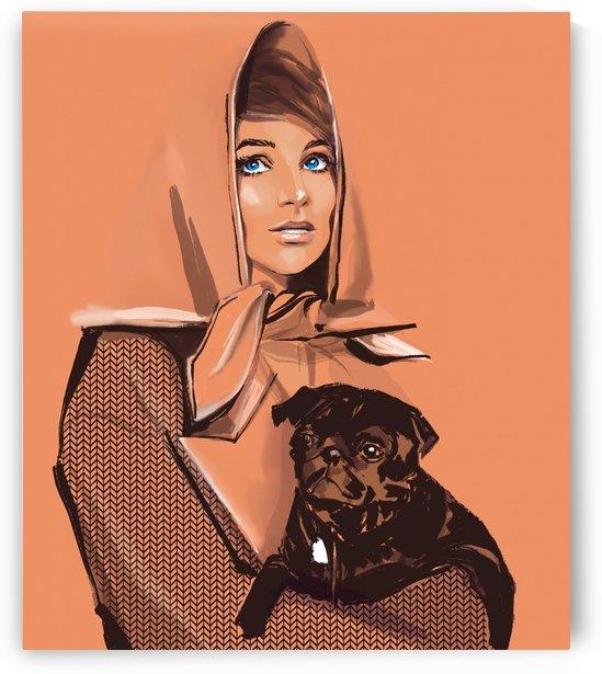 Little Dog by Evgeniya Abramova