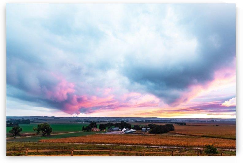 Hint Of Fall Sunset by Garald Horst