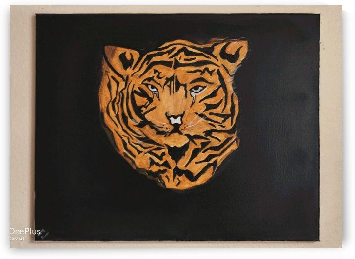 Tiger Face by Catherine Kamau