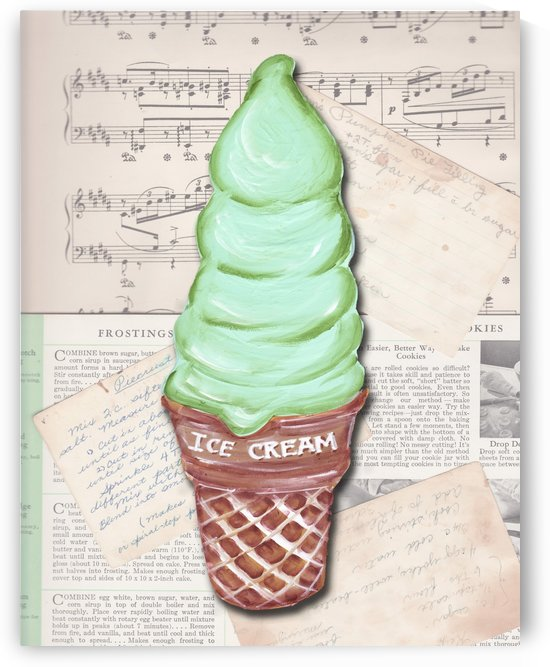 vintage recipe backicecream_edited 1 by Watermelon Stand