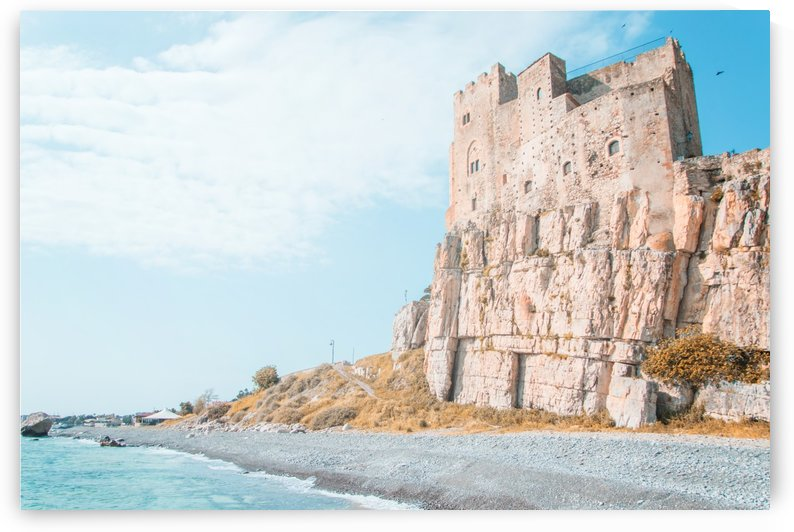 old castle in Italy by Sedgraphic