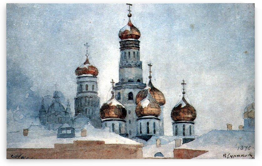 Belfry Ivan the Great by Vasily Surikov