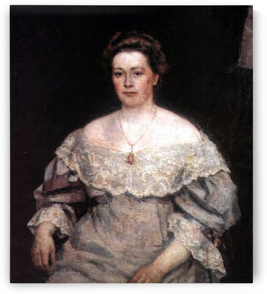 Portrait of A. P. Yurgenson by Vasily Surikov