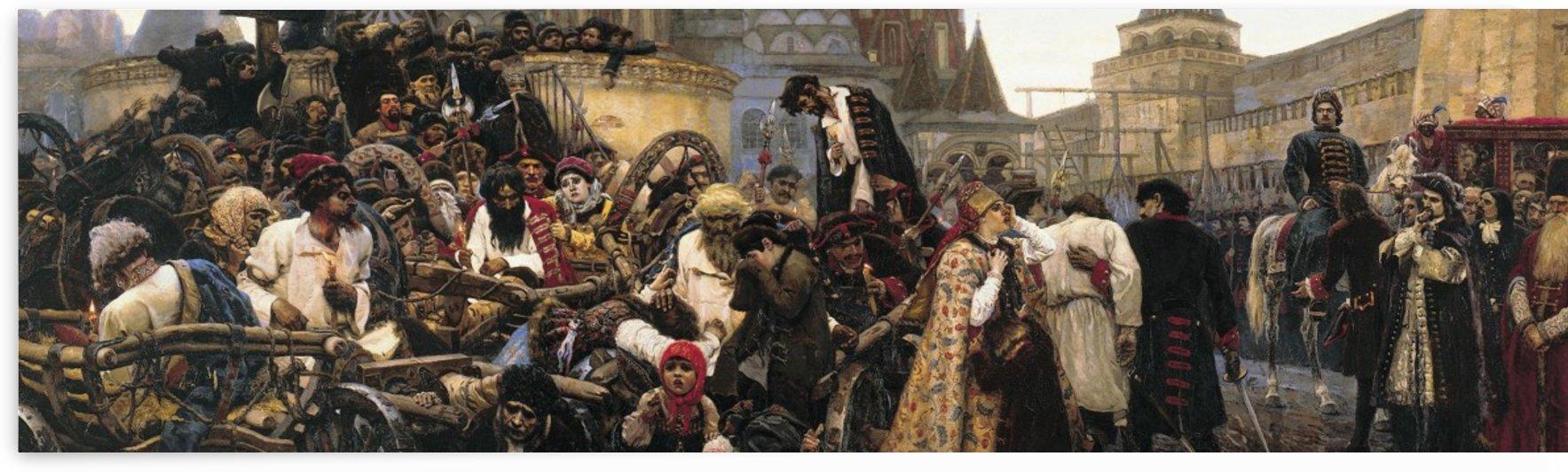 Morning Strelets'execution by Vasily Surikov