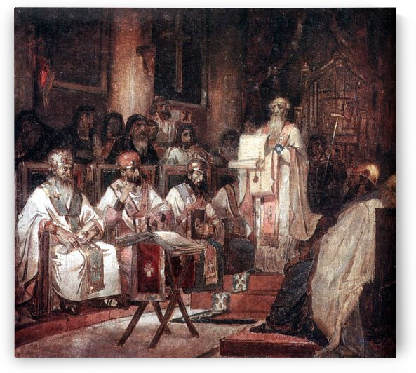 Second Ecumenical Council of Constantinople by Vasily Surikov