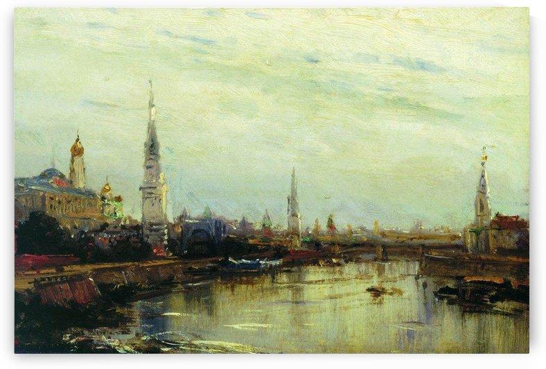 Moscow by Alexey Bogolyubov
