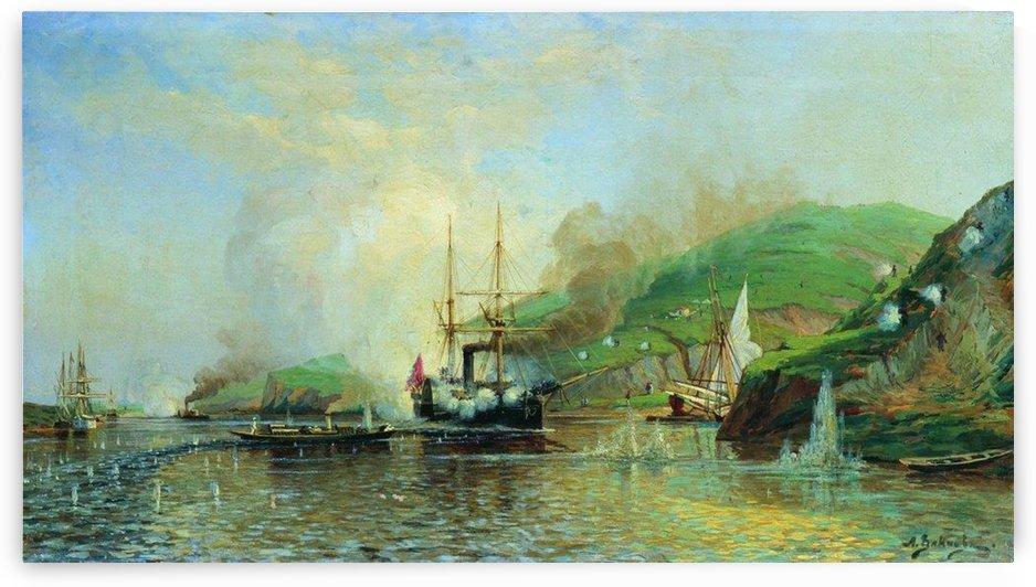 Attack of the boat Joke by Alexey Bogolyubov