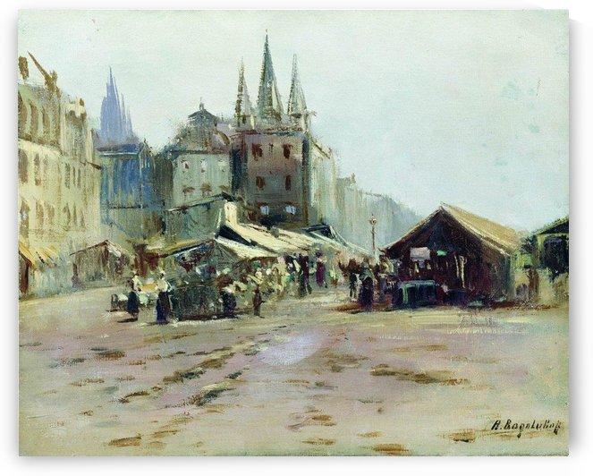 Bazar by Alexey Bogolyubov