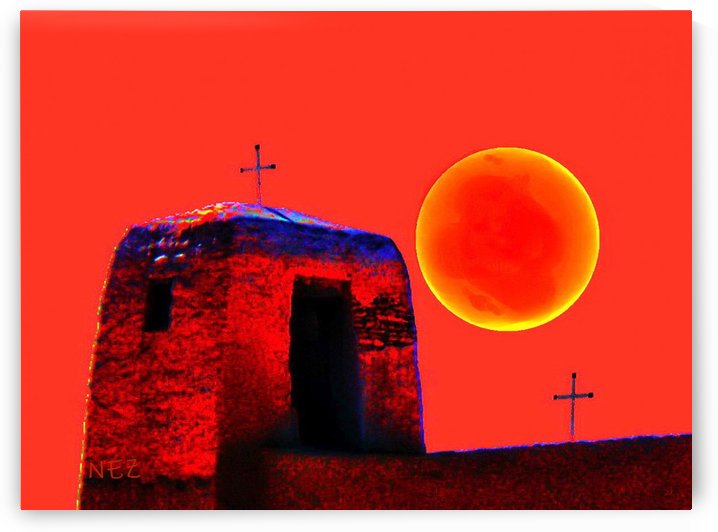 Sun and Crosses  by Efrain Montanez