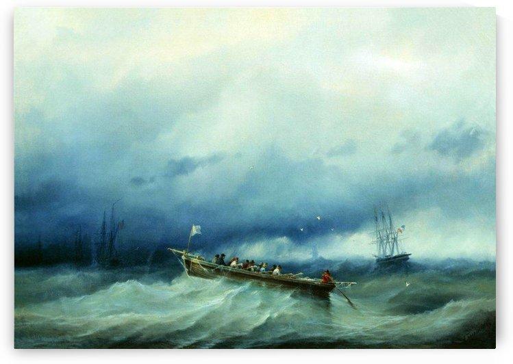 Pilots Biscay Bay by Alexey Bogolyubov