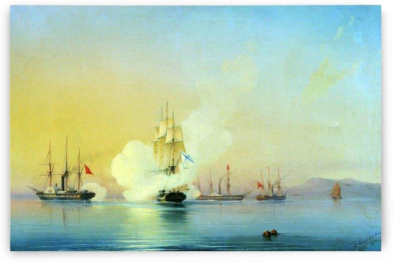 Fight on november 9 - 1853 by Alexey Bogolyubov