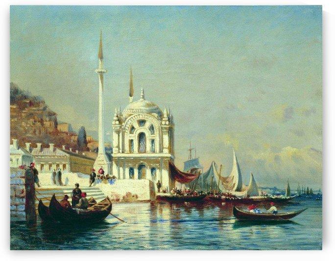 Constantinople - 1860 by Alexey Bogolyubov