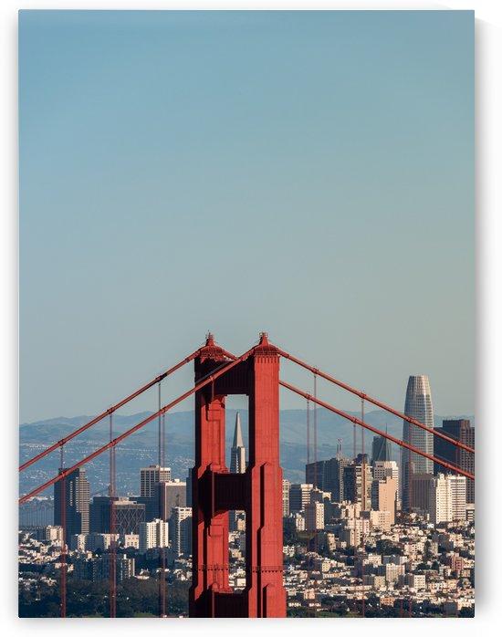 Threading the Needle - Golden Gate Bridge by David Yoon