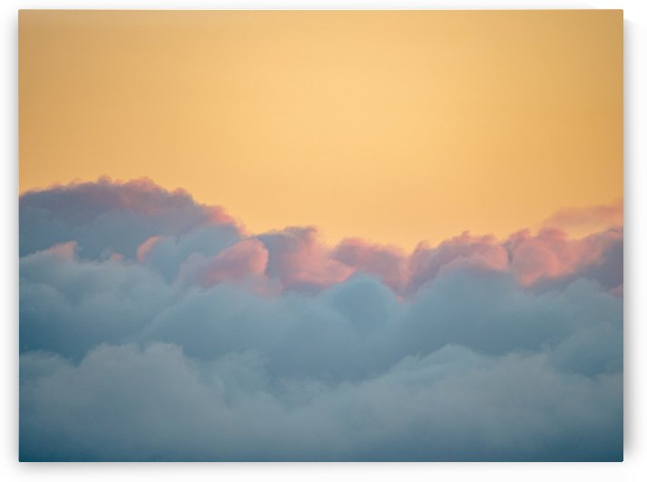 Clouds at Sunset by David Yoon