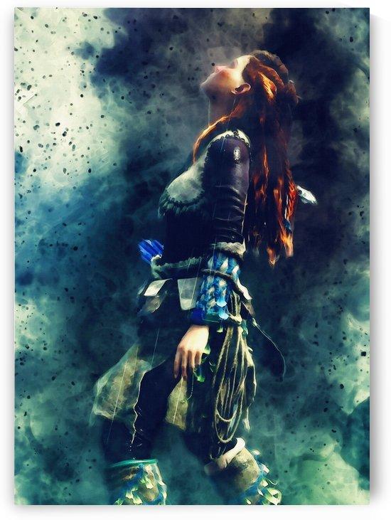 Aloy – Game Horizon Zero Dawn_02 by Gunawan Rb