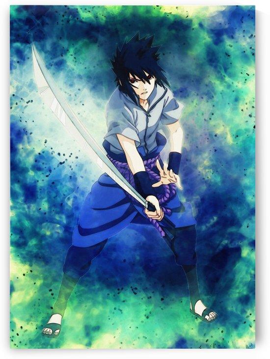 Sasuke Uchiha Naruto Shippuden by Gunawan Rb