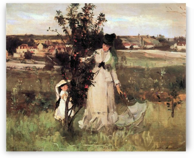 Hide-and-seek by Morisot by Morisot