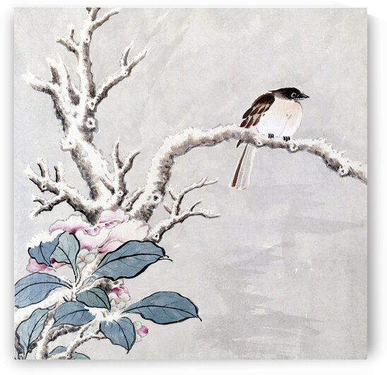 CHINESE TRADITIONAL FLOWER-AND-BIRD PAINTING PRINTS. MING DYNASTY PAINTINGS.Wall decor. Chinese traditional art print 003. by YongeArtStudio